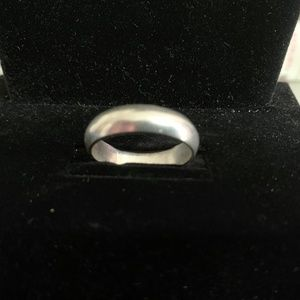 .925 Solid Sterling Silver Men's Wedding Band